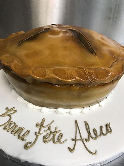 3D Pie Cake