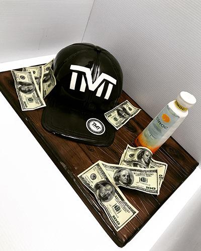 TmT Vodka 3D Cake