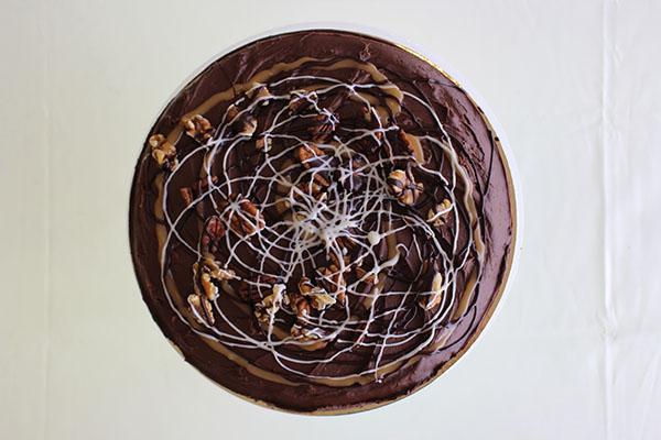 Chocolate & Walnut Fudge