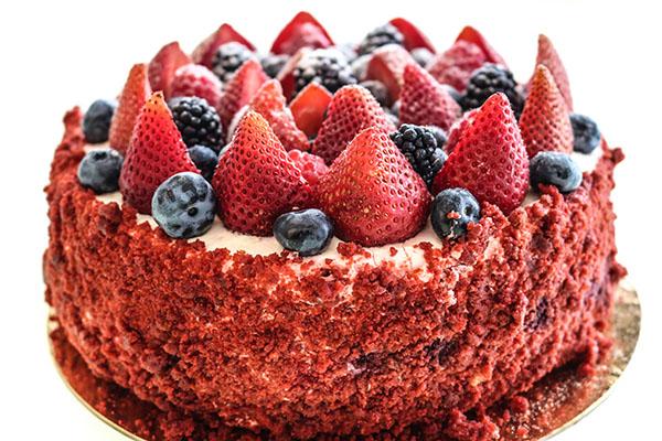 Red Velvet Frutti Di Bosco
