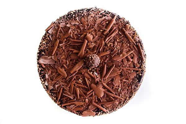Chocolate Praline Explosion Cheesecake