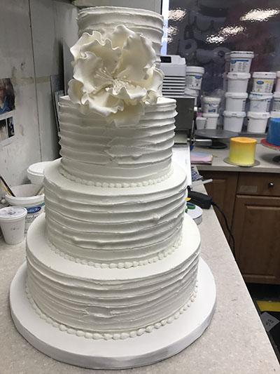 Semi-Naked Buttercream Naked Cake