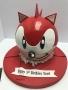 Sonic 3D Cake