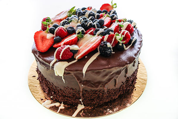 The Red Berry Cake