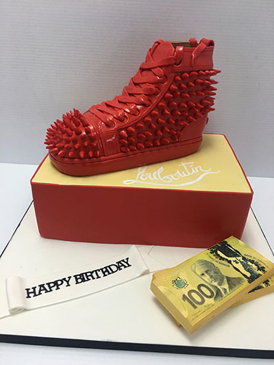3D Spiked Sneaker