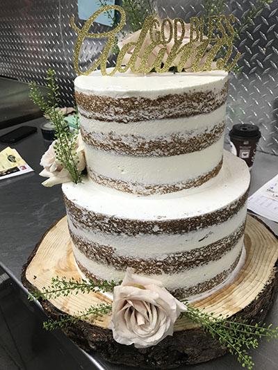 Classic Naked Cake 2
