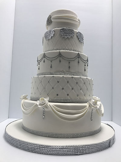 silver wedding cakes gallery wedding cakes 171 les delices lafrenaie montreal s 1 19885