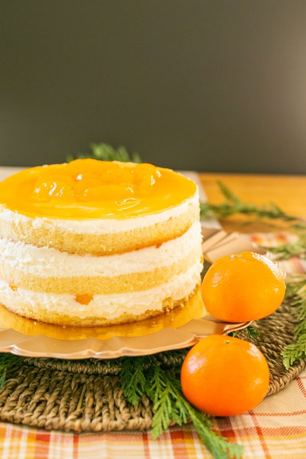 Gâteau Mandarine Cake